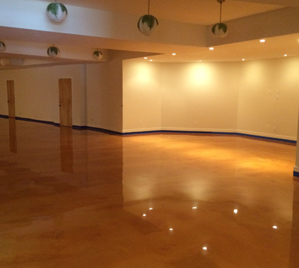 Metallic Epoxy Floor Coating